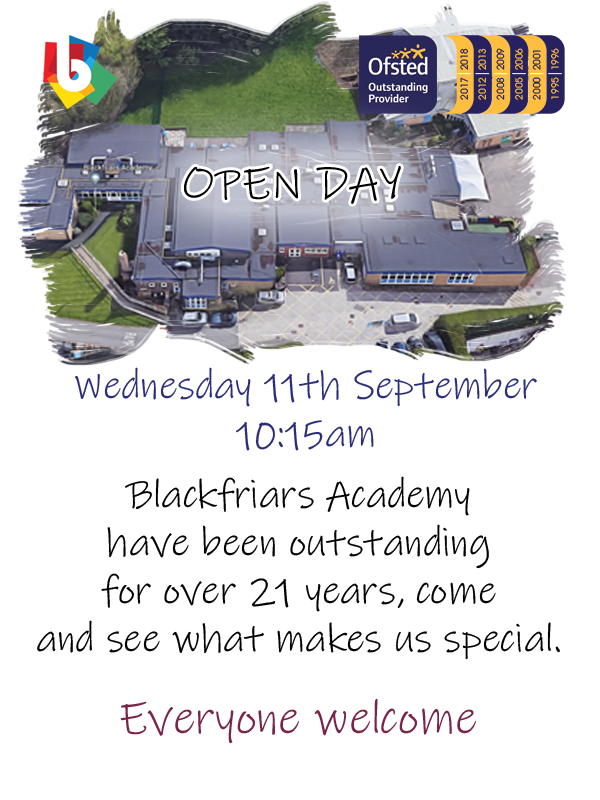 Blackfriars Open Day